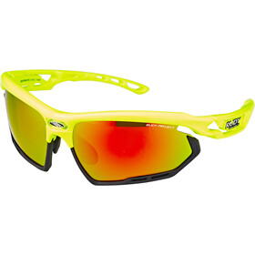 Rudy Project Fotonyk Cykelbriller, yellow fluo gloss - rp optics multilaser orange